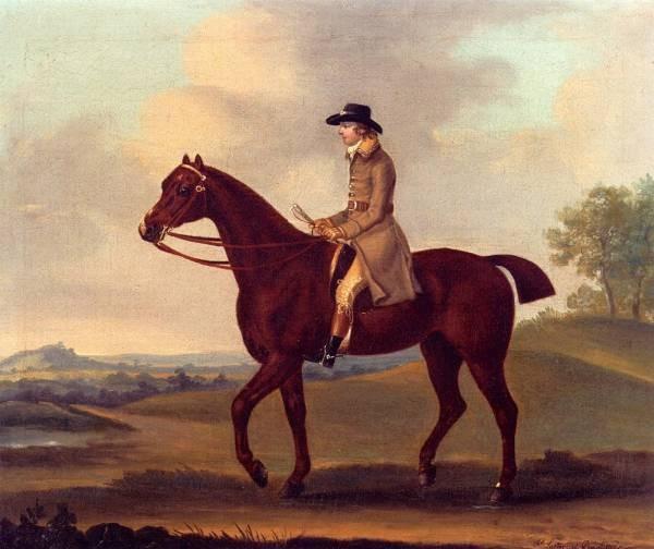 A Horseman In A Landscape